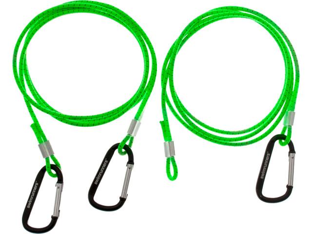Swimrunners Hook-Cord Cinturón pull 3m, neon green